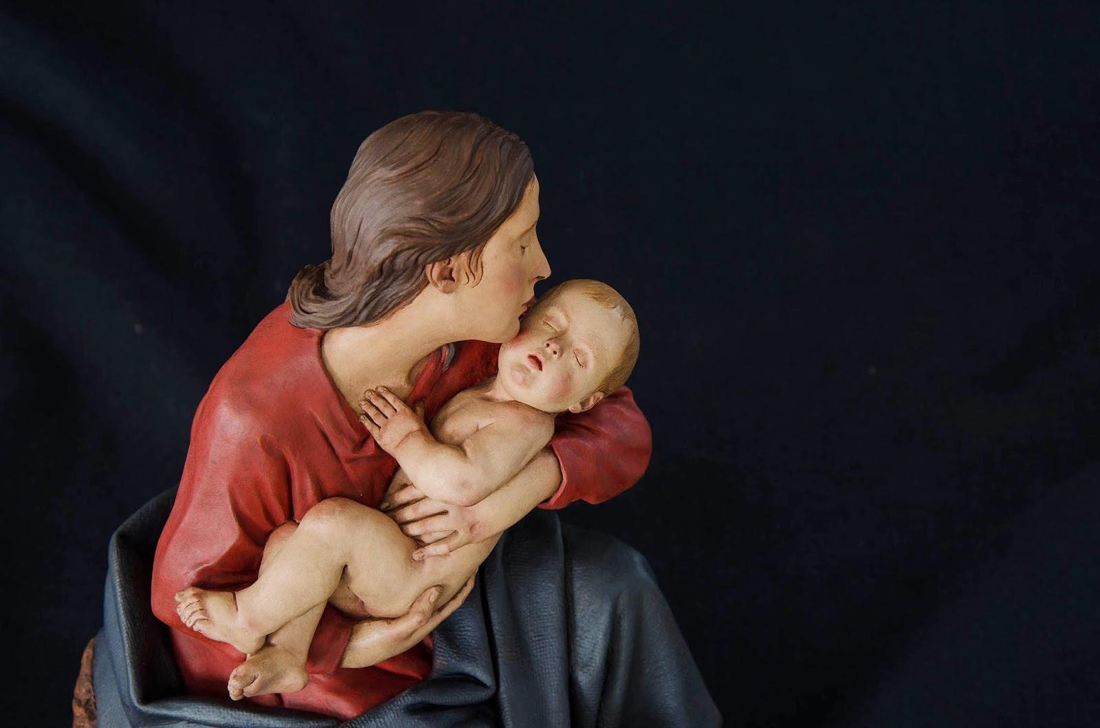 Nacimiento Belén Nativity presepe krippe Arturo Serra Barro cocido 34