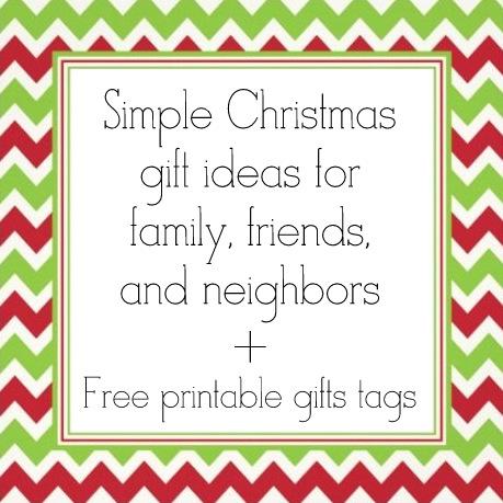 Serving Pink Lemonade: Simple Christmas Gift Ideas for Family ...