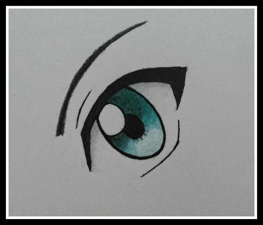 imagens para colorir de olhos - Desenho de Olhos humanos para Colorir Desenhos de O
