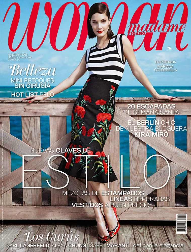 Fashion Model @ Mariana Coldebella - Woman Spain, April 2015