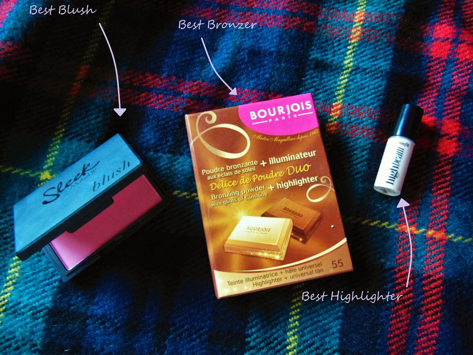 best of 2014 blush bronze highlight sleek bourjois benefit