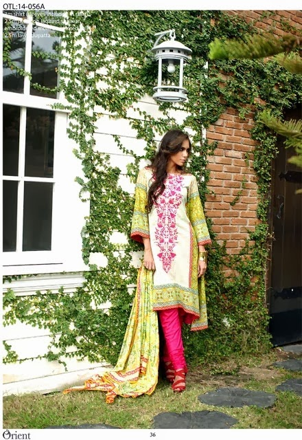 Embroidered Lawn 2014