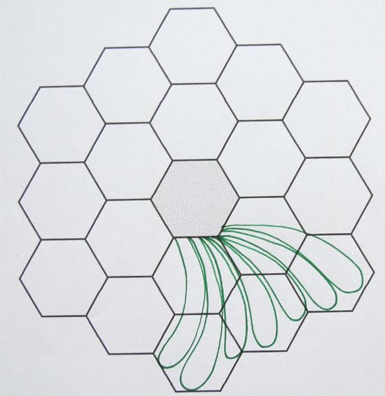 how to create hexagon - photo #22