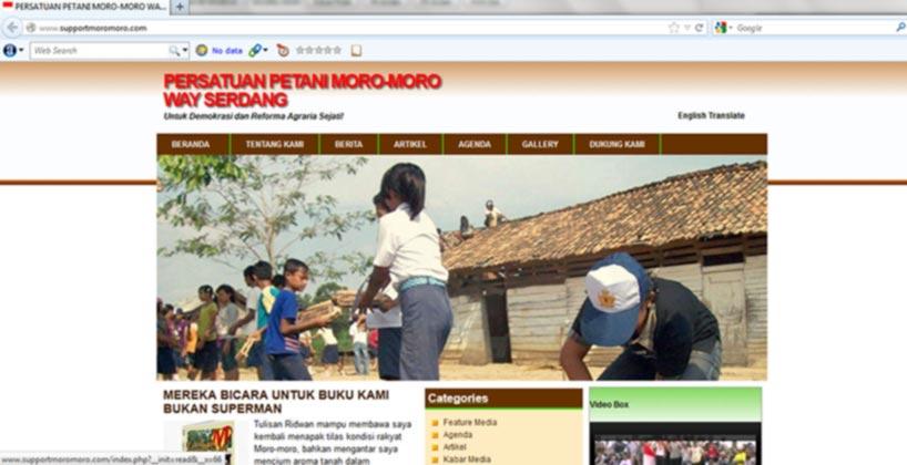 Keren, Petani Mesuji Punya Twitter dan Website