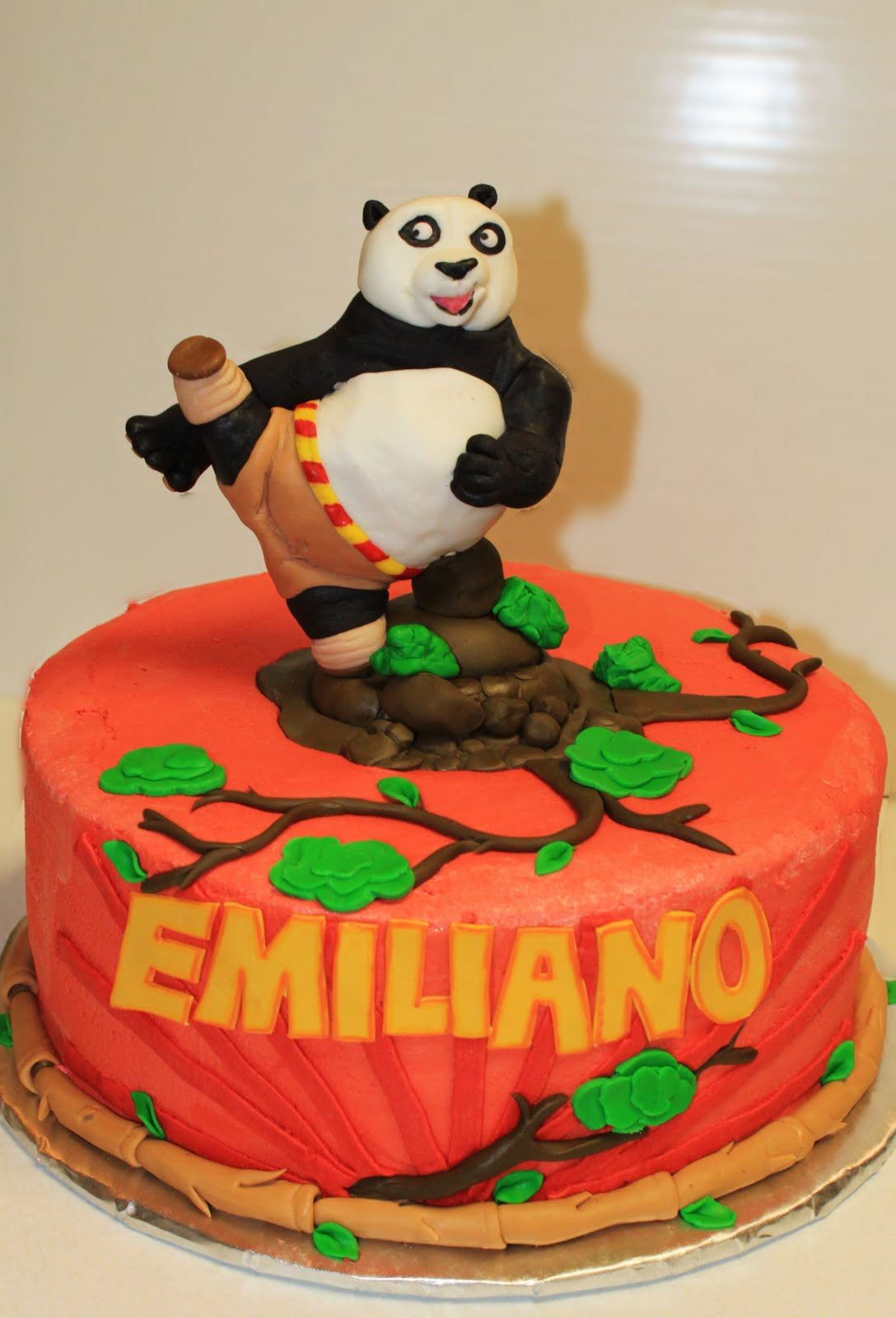 Layers Of Love Kung Fu Panda Po Cake