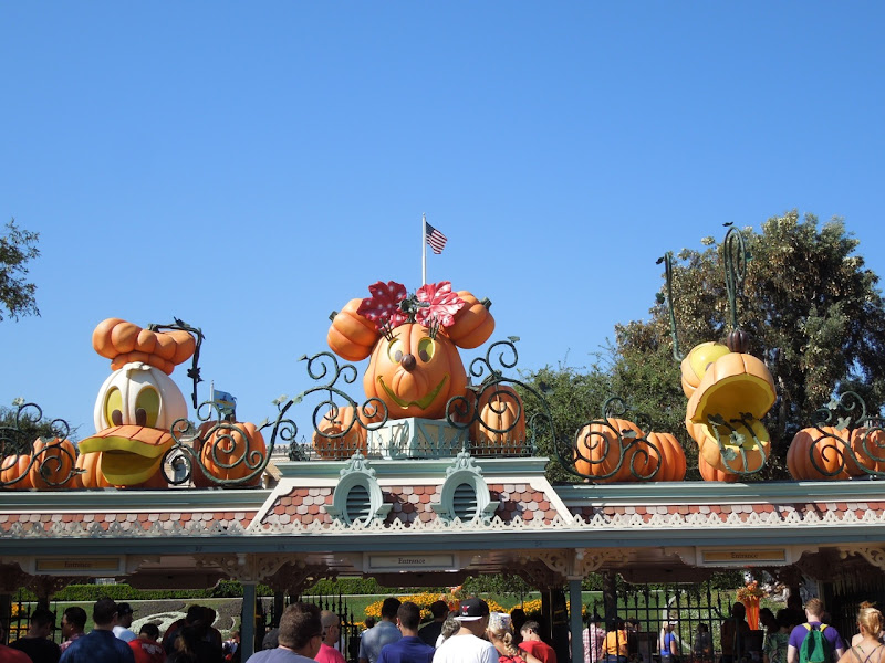 Disneyland Halloween Time entrance