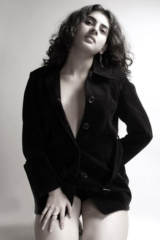 Archana Veda latest Photo Shoot Stills In Black Dress