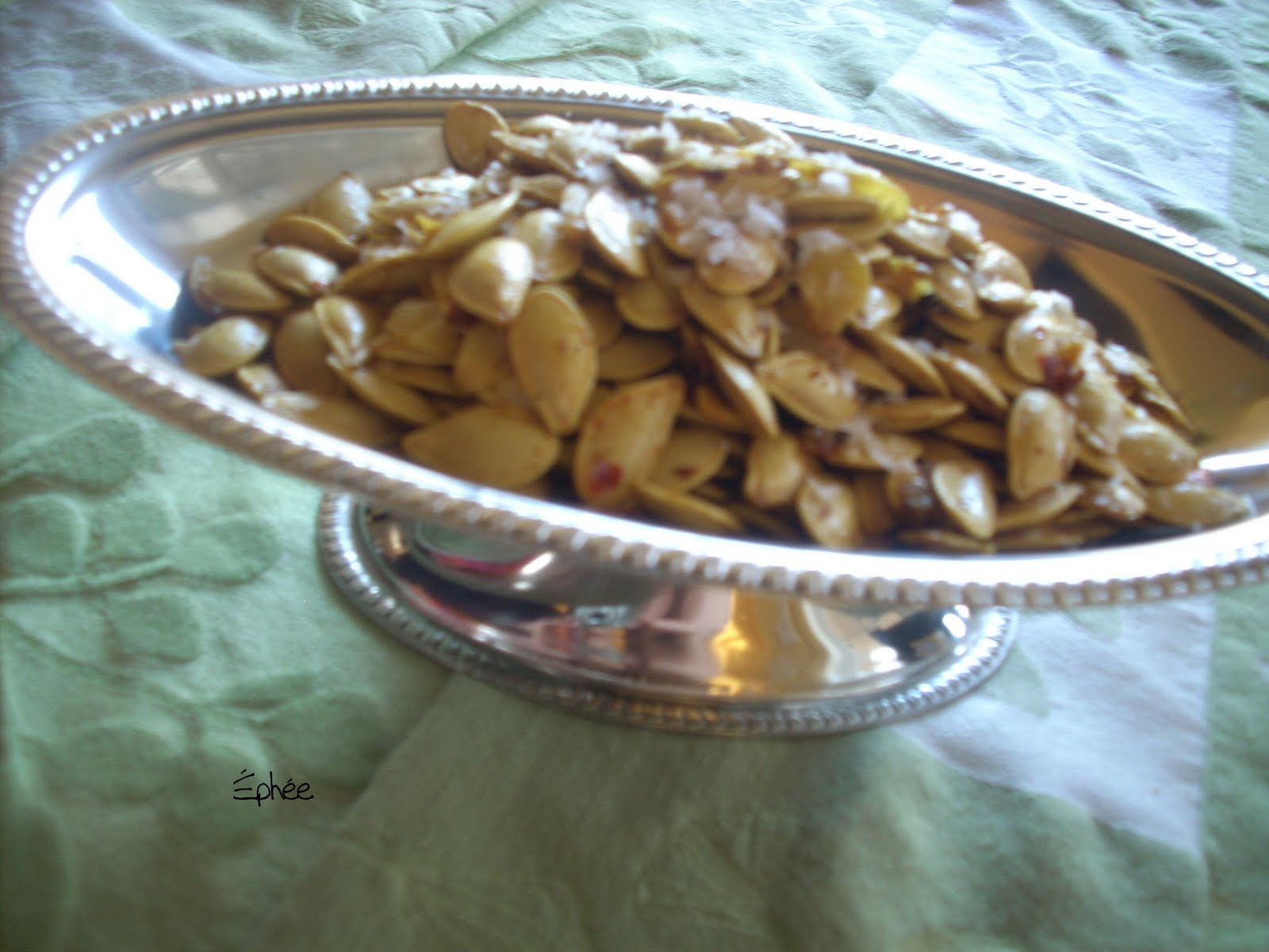 Graines de citrouille la po le - Graines de potimarron grillees a la poele ...