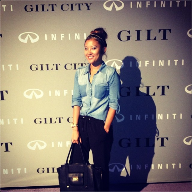 gilt city, miami warehouse sale, gilt city miami, infiniti, zac posen, thom browne, fashion blogger, style by lynsee