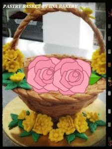 Tempahan Pastry Basket ajee RM150