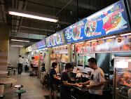 Singapore Food Stalls