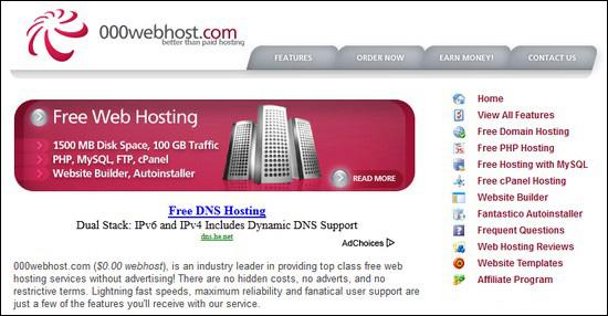 Webhosting pertama belajar WordPress