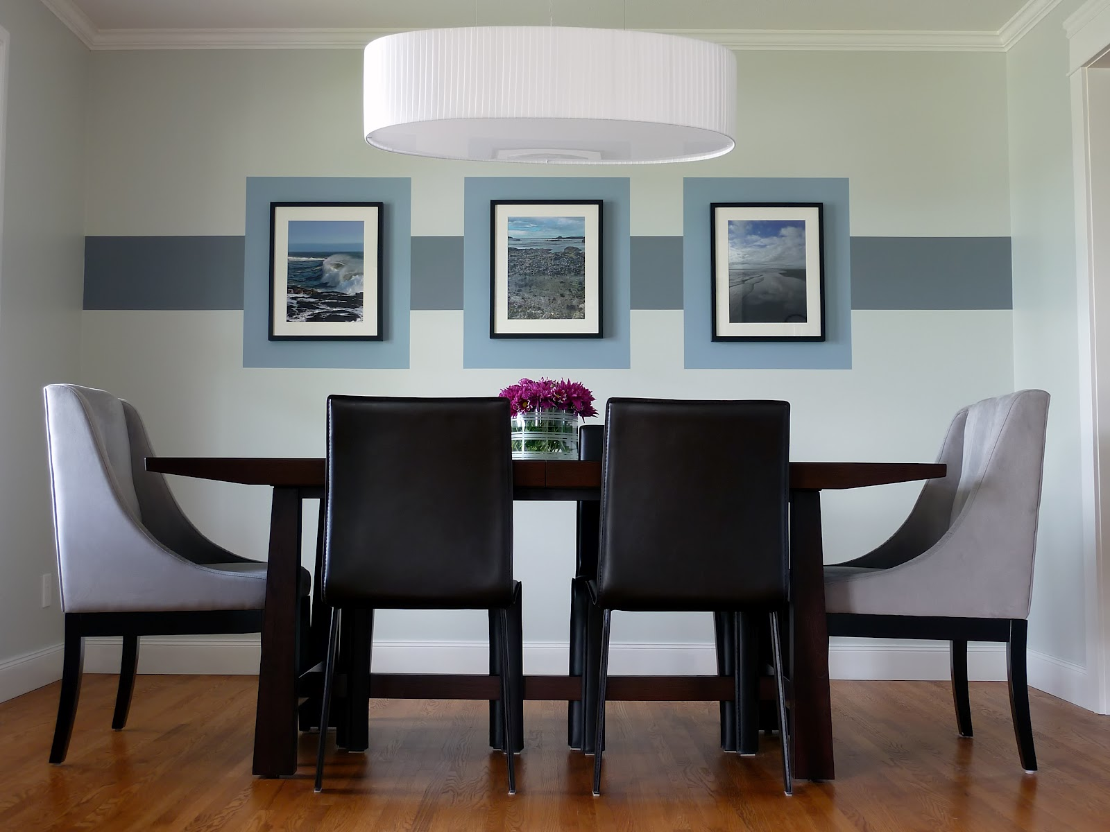 Symmetrical Dining Room Design