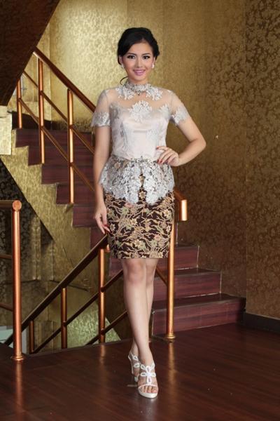 Kebaya Wisuda Modern Lengan Pendek 9 Model Baju Keb...