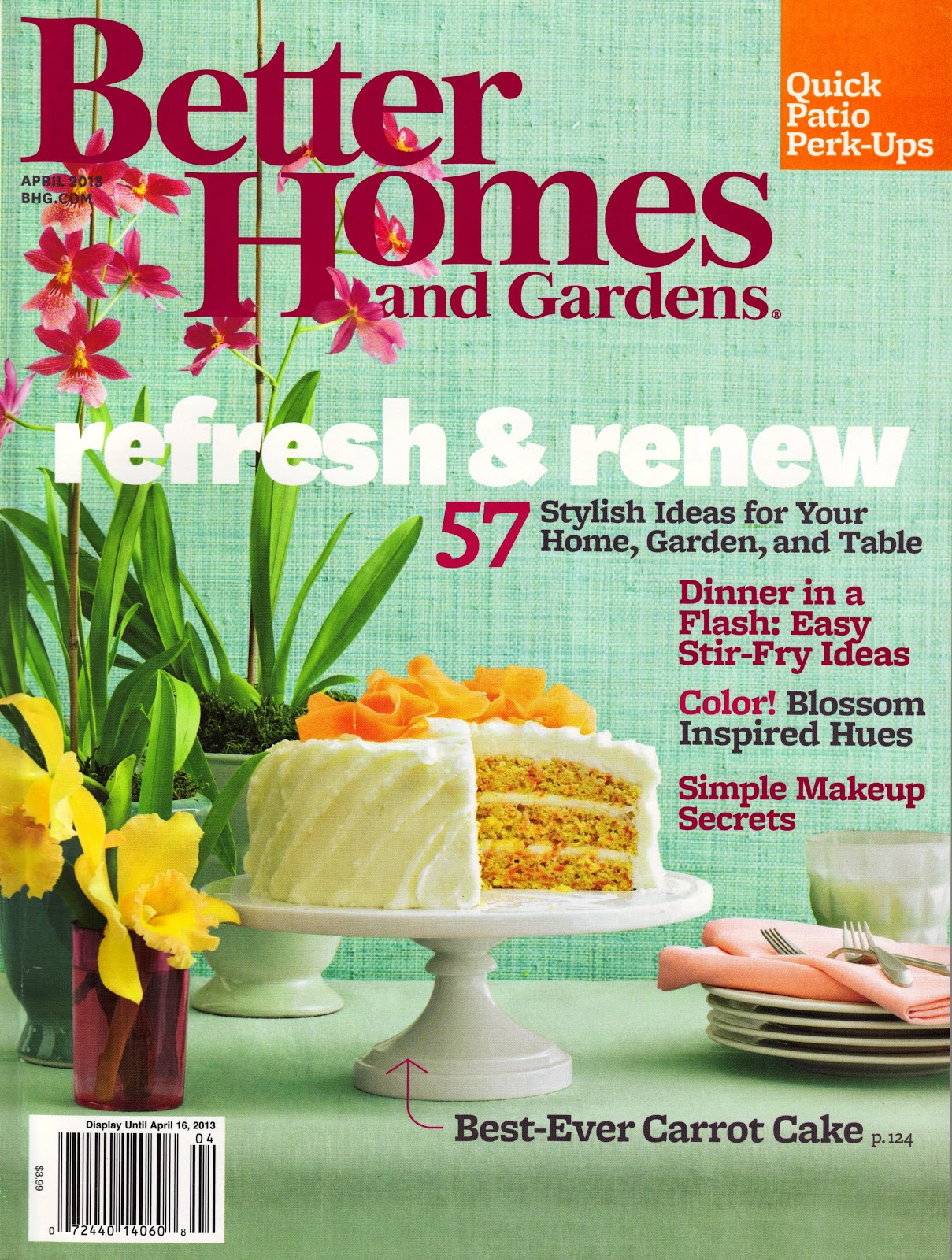 Loft cottage the issue is out Better homes and gardens current issue