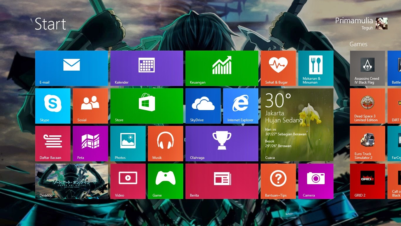 Download Windows 8.1 Enterprise 32bit dan 64bit