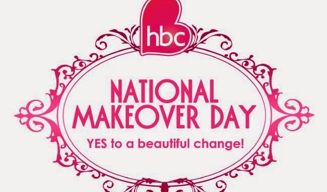 "HBC's National Makeover Day, Say ""Yes"" to a Beautiful Change!"