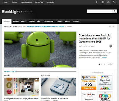 Image for BlackLight – Premium Magazine Theme by ThemeJunkie