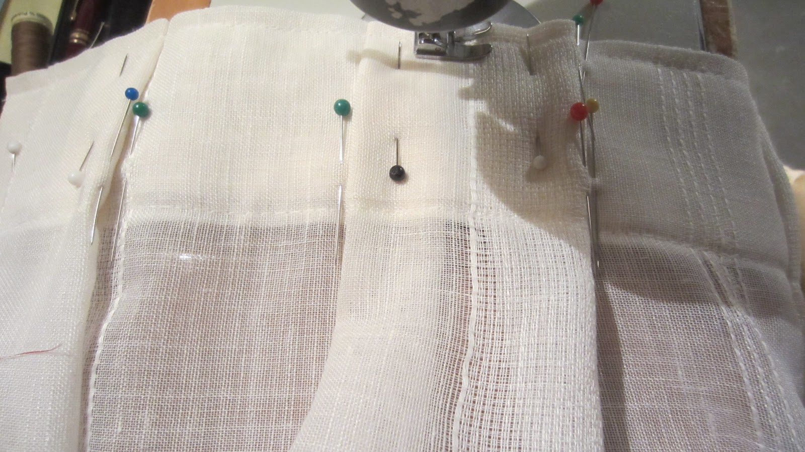 Patrones de costura visillos con tablas marcadas a mano - Formas de cortinas ...