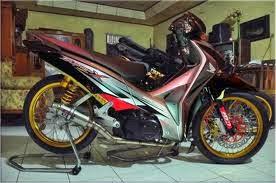 Modifikasi Honda Supra X 125 Terbaru 2014