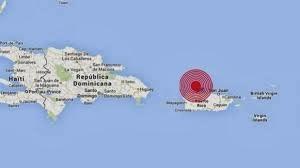 Epicentro terremoto 6,4 grados en Puerto Rico, el 13 de Enero 2013