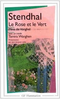 Le Rose et le Vert Stendhal