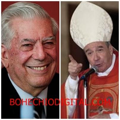 Escritor Vargas Llosa pide al Papa quitar al Cardenal López Rodríguez