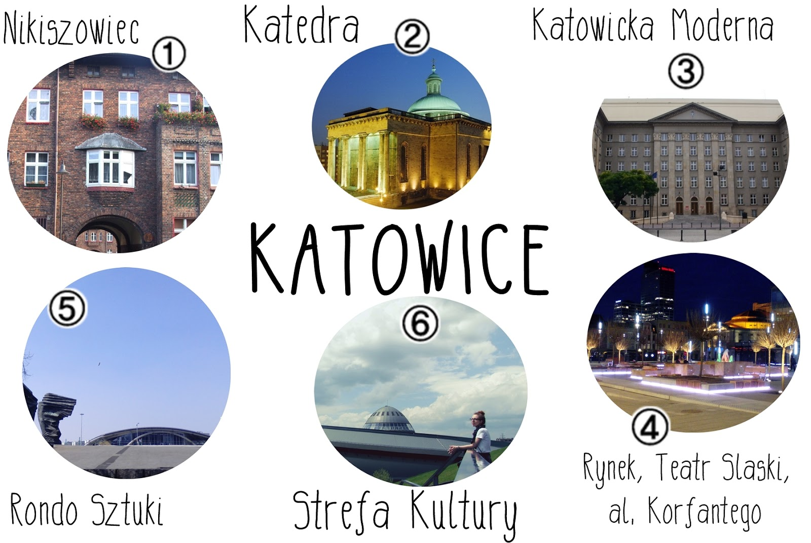 wycieczka jednodniowa po Katowicach, co zobaczyć