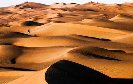 Cielo Rojo II Parte Caminando-por-el-desierto