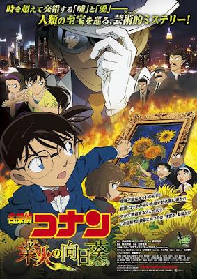 Sunflowers of Inferno menjadi film Detective Conan telaris