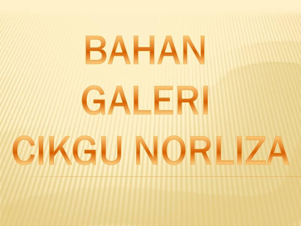 BAHAN GALERI CIKGU NORLIZA
