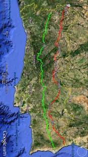 RIO DE ONOR - BRAGANÇA - BEJA - CASTRO MARIM