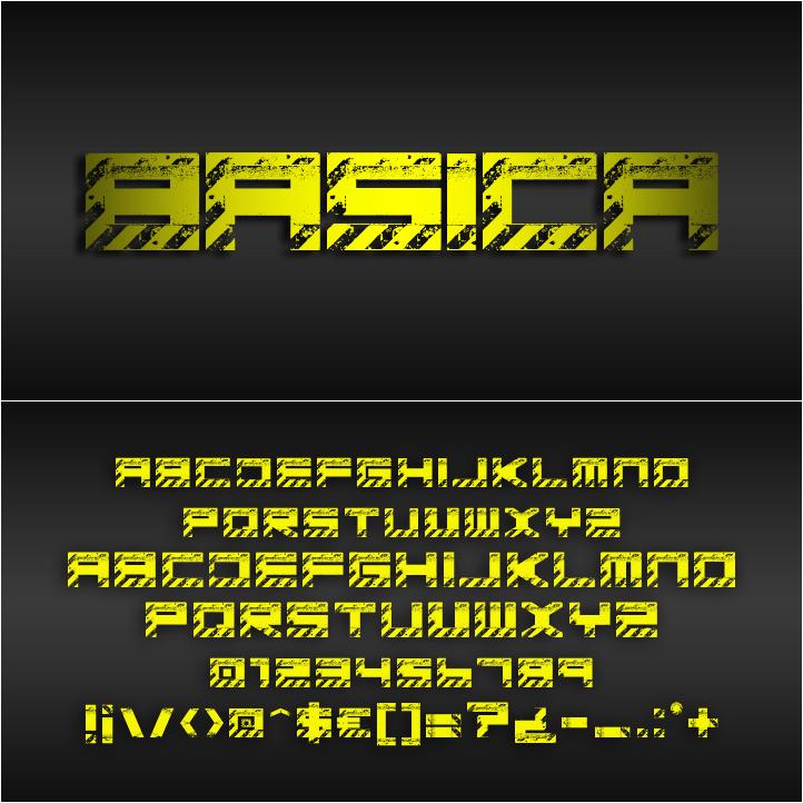 Tipografia Basica industrial