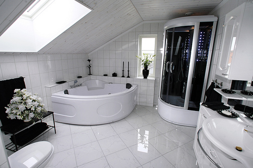 New home designs latest modern homes modern bathrooms for Beautiful toilet designs