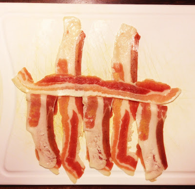 making bacon weave