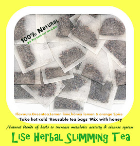 100% Natural Slimming teas