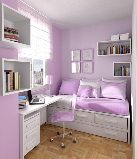 Teenage Bedroom Ideas For Girl:Dorm Room Ideas, College