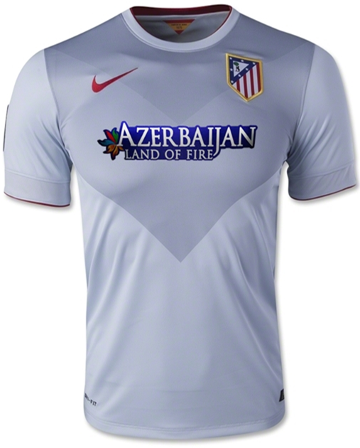 Jersey GO Atletico Madrid Away Official Musim 2014 - 2015