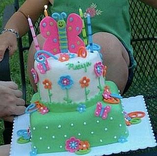 Tortas con Flores para Fiestas Infantiles, parte 2