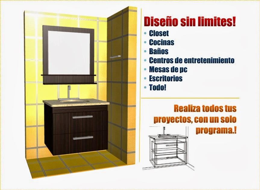 Dise o de muebles madera programa para dise ar y crear for Programa para disenar closet y cocinas