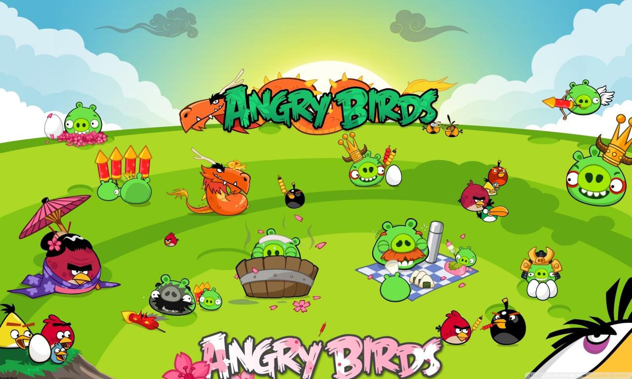 ảnh nền angry birds