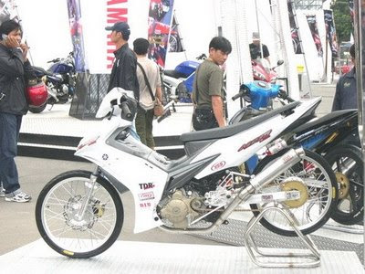 Modifikasi Motor Jupiter Mx Thn 2008