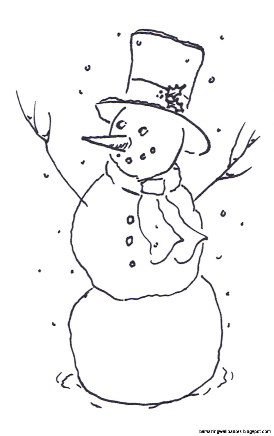 Black And White Snowman    Pinterest  Hd Images Snowman