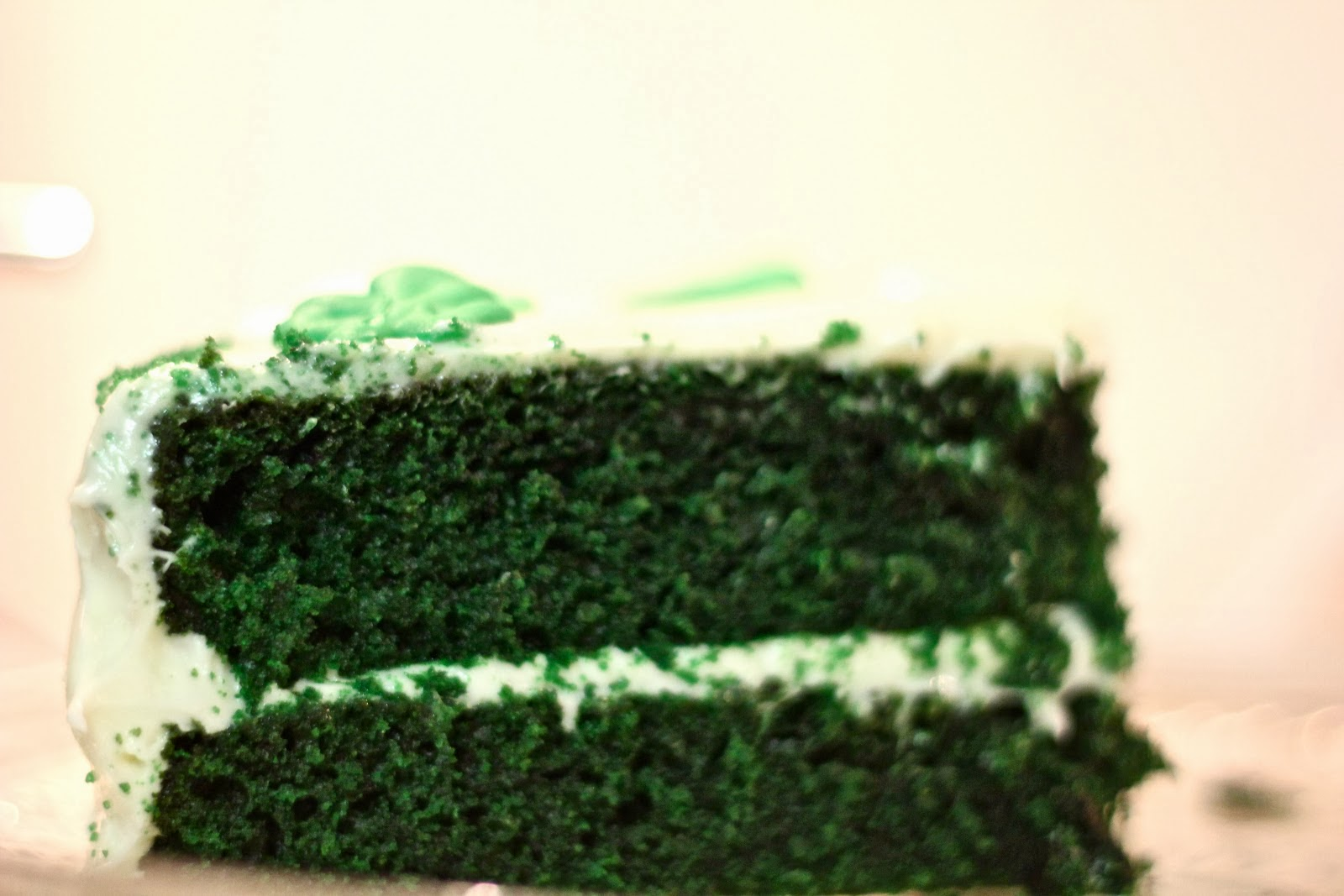 Green Velvet Cheesecake Cake - Cook'n is Fun - Food Recipes, Dessert ...