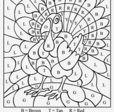 PRINTABLE COLORING PAGES FOR THANKSGIVING  Coloringpages321