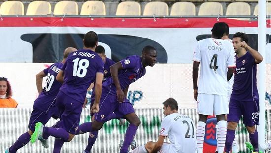 Carpi 0 x 1 Fiorentina - Campeonato Italiano(Calcio) 2015/16