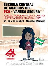 """Escuela Central de Cuadros del PCA """"Vanesa Segura"""""""