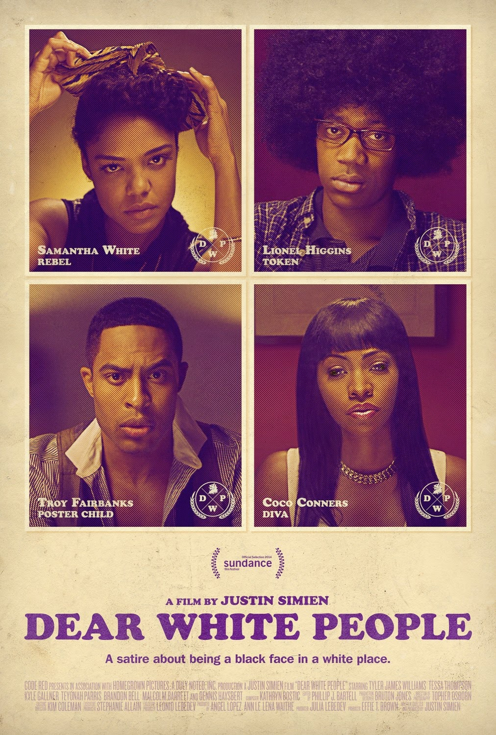 Dear White People (2014) Poster