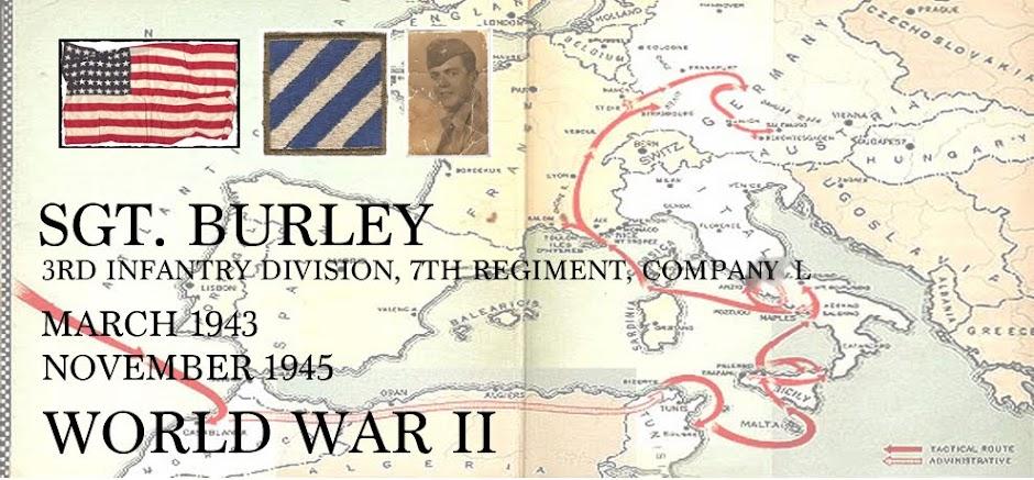 Sgt. Burley 3rd Infantry
