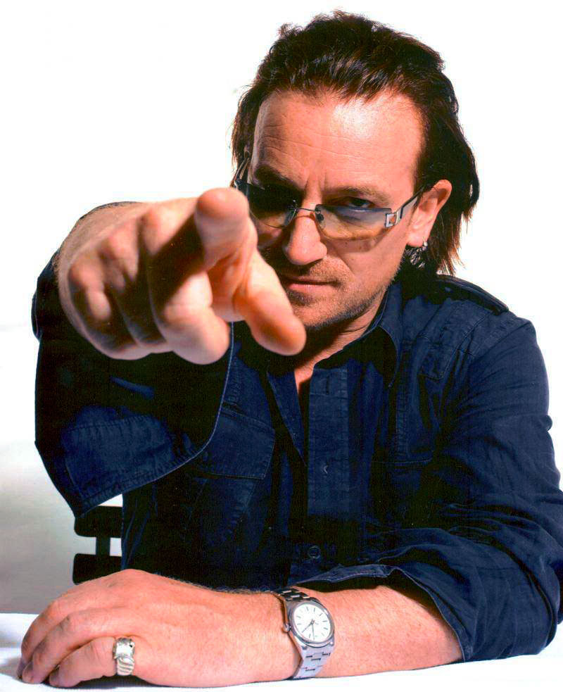 bono u2 dating Bono says joining u2 as a teenager may have saved his life  he also told ellen that he and his wife began dating the same week he joined u2.